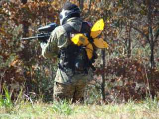 Paintball Airsoft Scenario field North Carolina NC Command Decisions Wargames Center